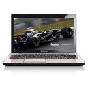 Lenovo Z570 M5553UK Laptop Core I3-2310m, 4GB RAM, 500GB HDD, DVDRW Bluetooth, Wifi, 6 Cell Battery, Windows 7- Violet